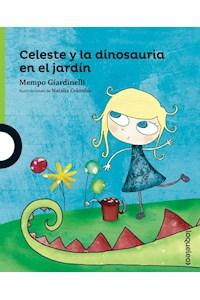 Papel Celeste Y La Dinosauria En El Jardin