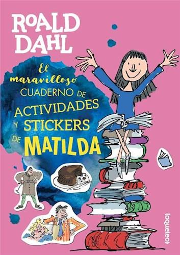 Libro Maravilloso Cuaderno  Actividades Matilda