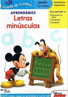 Papel Mickey Aprendemos Letras Minúsculas