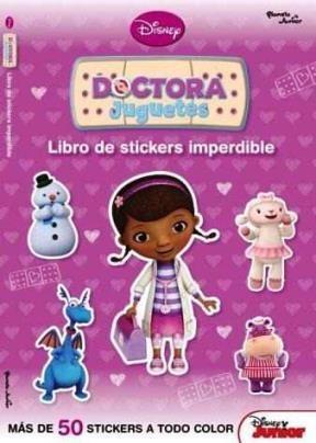 Papel Doctora Juguetes - Libro De Stickers Imperdible 2