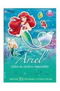 Papel Ariel-Libro De Stickers Imperdible