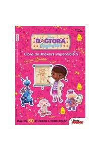 Papel Doctora Juguetes En Su Clínica - Libro De Stickers