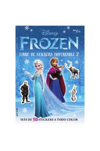 Papel Frozen - Libro De Stickers