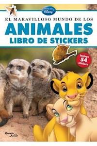 Papel El Maravilloso Mundo De Los Animales Libro De Stickers