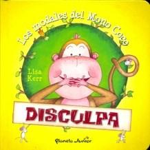 Papel Los Modales Del Mono Coco - Disculpa