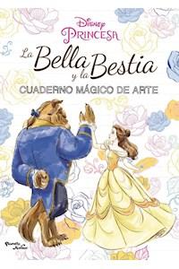 Papel La Bella Y La Bestia. Cuaderno Mágico De Arte