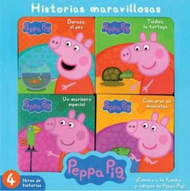Libro Peppa Pig  Historias Maravillosas