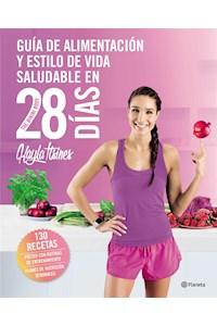 Papel Guía De Alimentación Y Estilo De Vida Saludable En 28 Días