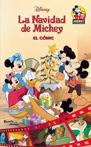 Libro La Navidad De Mickey  El Comic