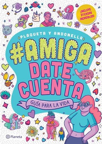 Papel AMIGA DATE CUENTA GUIA PARA LA VIDA (INCLUYE STICKERS INCREIBLES)