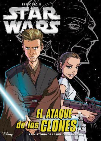 Papel STAR WARS. EPISODIO III. EL ATAQUE DE LOS CLONES