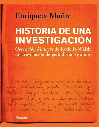 Libro Historia De Una Investigacion