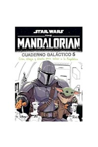 Papel Star Wars. The Mandalorian. Cuaderno Galactico 5