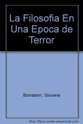 Papel Filosofia En Una Epoca De Terror, La
