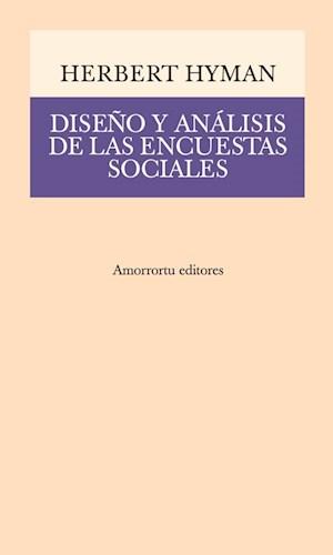Papel Diseño y análisis de las encuestas sociales