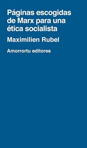 papel Páginas escogidas de Marx para una ética socialista