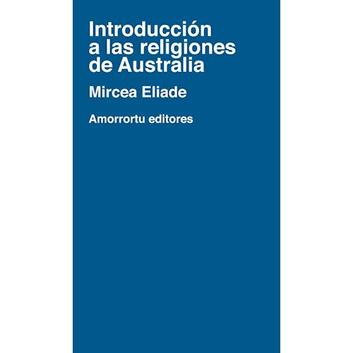 Papel INTRODUCCION A LAS RELIGIONES DE AUSTRALIA