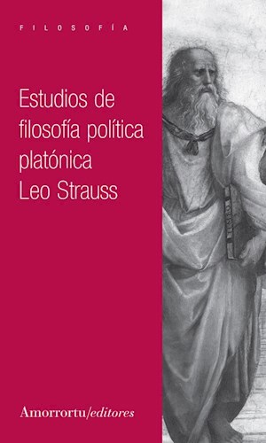 Papel Estudios de filosofía política platónica