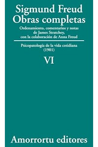 papel VI. Psicopatología de la vida cotidiana (1901)