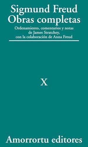 Papel Obras Completas S Freud Vol 10