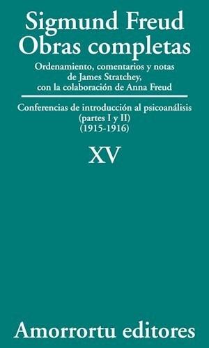 papel XV. Conferencias de introducción al psicoanálisis (partes I y II) (1915-1916)