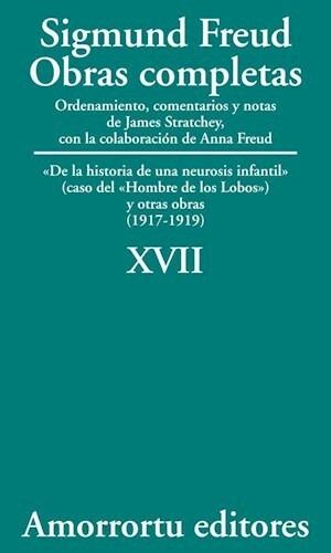 Papel Obras Completas S Freud Vol 17