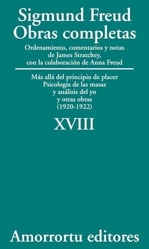 Papel S.FREUD XVIII OBRAS COMPLETAS