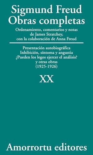 Papel Obras Completas S Freud Vol 20