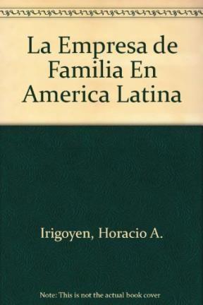 Papel Empresa De Familia En America Latina