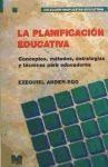 Papel PLANIFICACION EDUCATIVA-CONCEPTOS,METODOS,ESTRATEGIAS Y TEC.