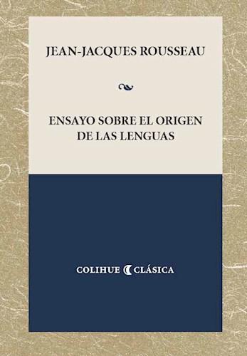 Papel Ensayo Sobre El Origen De Las Lenguas