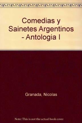 Libro Comedias Y Sainetes Argentinos
