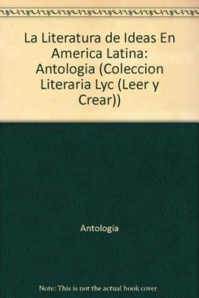 Papel LITERATURA DE IDEAS EN AM.LAT.