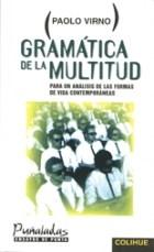 Libro Gramatica De La Multitud