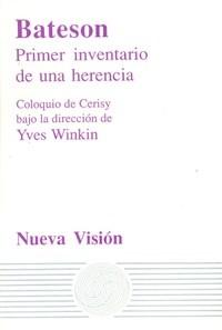 Papel BATESON-PRIMER INVENTARIO DE UNA HERENCIA-