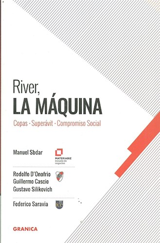 Libro River La Maquina