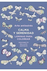 Papel Arte Antiestres: Calma Y Serenidad