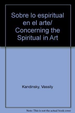 Libro Sobre Lo Espiritual En El Arte