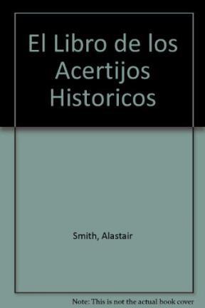 Papel Libro De Los Acertijos Historicos, El