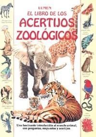 Papel Libro De Los Acertijos Zoologicos, El