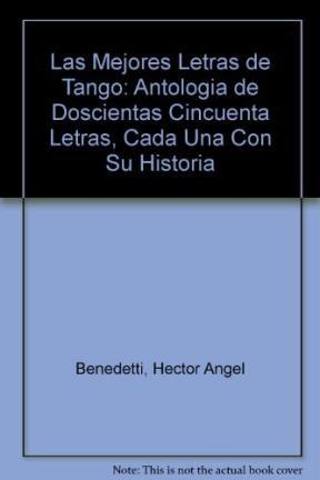 Papel MEJORES LETRAS DE TANGO LAS