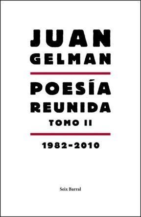 Papel POESIA REUNIDA TOMO II 1982 - 2010