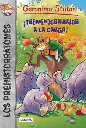 Libro 8. Prehistorratones  Tremendosaurios A La Carga !
