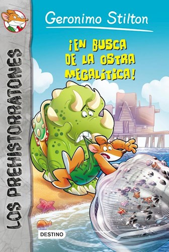 Papel EN BUSCA DE LA OSTRA MEGALITICA (LOS PREHISTORRATONES 11)