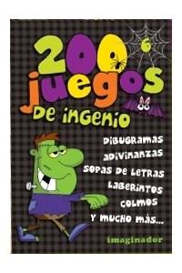 Papel 200 Juegos De Ingenio 6 (Edicion Black)