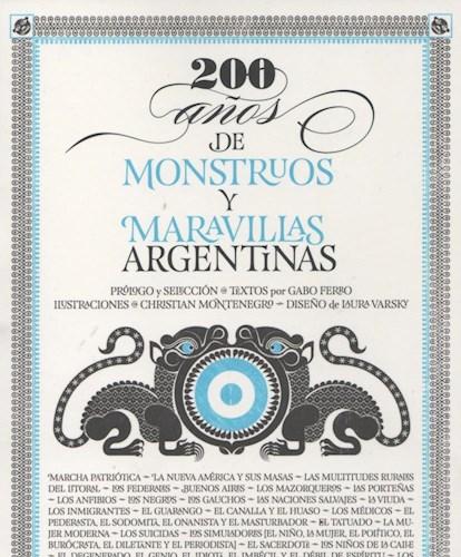 Papel 200 Años De Monstruos Y Maravillas Argentinas