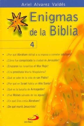 Papel Enigmas De La Biblia 4
