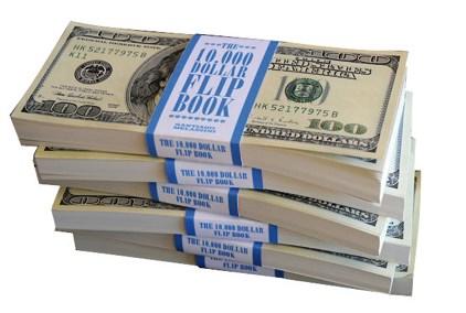 Libro The 10.000 Dollar Flip Book