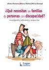 Libro Que Necesitan Las Familias De Personas Con Discapacidad ?