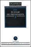 Papel ESCANSION N§3-EL LUGAR DEL PSICOANALISTA